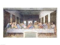 Framed Last Supper, 1495-97 (post restoration)