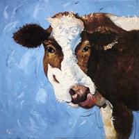 Framed Cow #303