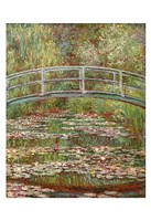 Framed Water Lily Pond, 1899