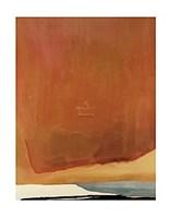 Framed Sunset Corner, 1969