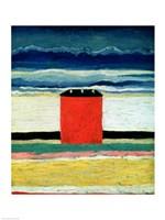 Framed Red House, 1932