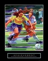 Framed Achievement - Soccer
