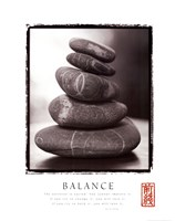 Framed Balance - Rocks