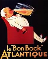 Framed Le Bon Bock