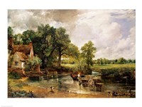 Framed Hay Wain, 1821
