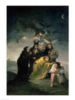 Framed Witches' Sabbath