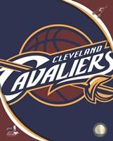 Framed Cleveland Cavaliers Team Logo
