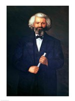 Framed Portrait of Frederick Douglass