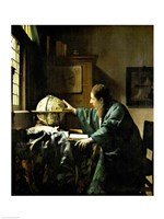 Framed Astronomer, 1668