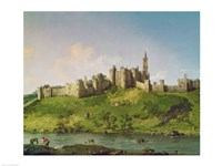 Framed Alnwick Castle