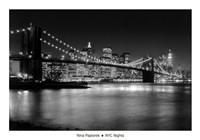Framed NYC Nights