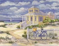 Framed Beach Cruiser Cottage II