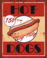 Framed Hot Dogs