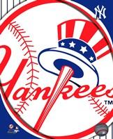 Framed 2011 New York Yankees Team Logo