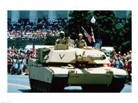 Framed 1A1 Ambrams Main Battle Tank