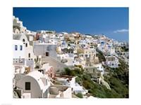 Framed Santorini, Oia, Cyclades Islands, Greece