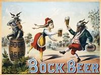 Framed Bock Beer