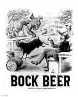 Framed Bock Beer celebration