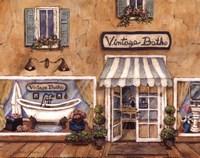 Framed Vintage Baths