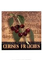 Framed French Cherries