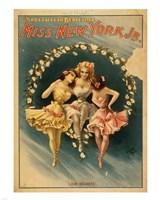 Framed Miss New York Jr. - Love Secrets