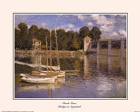 Framed Bridge at Argenteuil, c.1874