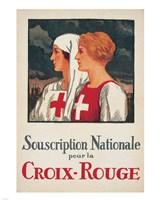 Framed Jules Courvoisier - Souscription Croix-Rouge