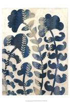 Framed Blueberry Blossoms I
