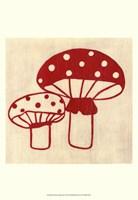 Framed Best Friends- Mushrooms
