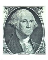 Framed George Washington Dollar