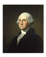 Framed Gilbert Stuart Williamstown Portrait of George Washington