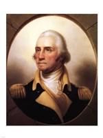 Framed Portrait of George Washington