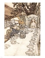 Framed Alice in Wonderland A Mad Tea Party
