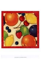 Framed Fruit Medley II