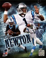 Framed Cam Newton 2011 Portrait Plus