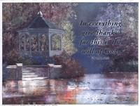 Framed Swans/Gazebo (verse)