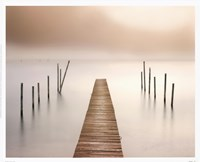 Framed Lake Walk I