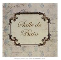 Framed Bain Sign I - mini