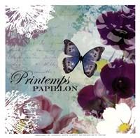 Framed Papillon - mini