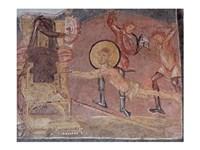 Framed Flagellation St Erasmus Crypta Balbi