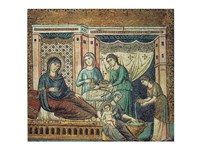 Framed Nativity of the Virgin