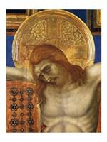 Framed Painted Cross