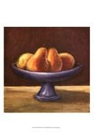 Framed Rustic Fruit Bowl IV