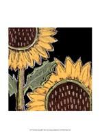 Framed Flower Song III