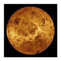 Framed Venus Globe