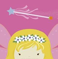 Framed Peek-A-Boo Fairy