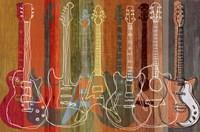 Framed Guitar Heritage