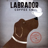Framed Labrador Coffee Co.