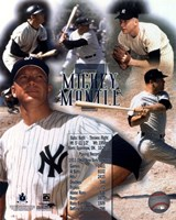 Framed Mickey Mantle Legends