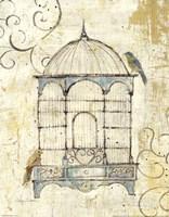 Framed Bird Cage IV